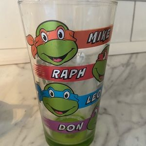 TMNT Drinking Glass